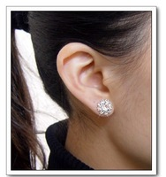 cystal shining zircon earrings elegant