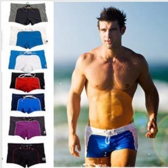Free shipping/brand name classic fashion mens swimming trunks sexy mens swimwear trunks swim shorts