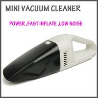 Car vacuum cleaner  mini portable High-Power Handheld  12V fast INFLATE  .