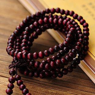 1PCS Free Shipping Men Jewelery sandalwood Wood 216 6mm Prayer beads Multiturn Buddha Bracelet Women Jewelry Religion Charm