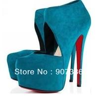 2013 Designer pumps gladiator high heeled boots red bottom shoes dress shoe