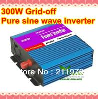300W pure sine wave inverter, DC 12V to AC 220V 50HZ for solar panel kit, lighting, mobile charging in stock