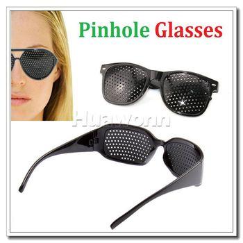 High quality Small Glasses Pinhole Glasses Myopia Amblyopia Astigmatism Alleviate Eye Fatigue Vision Correction Glasses