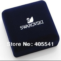 Box wholesale Premium suede pendant jewelry box packaging 9*9*6cm
