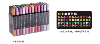 High Quality Touch Twin Design Marker Set 48 pcs/lot for Art Design And Painting.More than your money's worth!! /Free Shipping