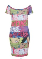 hot summer new style  Free Shipping Super cute cartoon dress party dress notu2013218