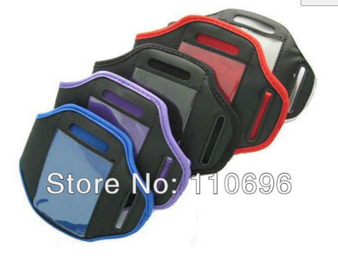 Sports Running Armband Case Workout Armband Holder Case Waterproof Armband Case for iPod & iPhone 4S 4 4G 3GS 3G 200pcs/lot(China (Mainland))