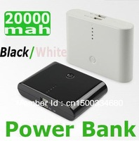 20 PCS Brand new external '20000 mah universal mobile power charger double USB output available! Free DHL and fedex shipping!