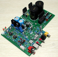 AD1955+WM8805+PCM2706+AD827+ LM3886TF Fiber Coax USB DAC+Amplifier board completed yj