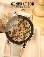 Fall in love fashion Women watches vintage fashion table