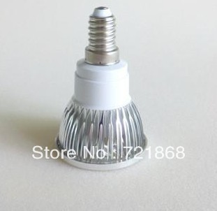 Free shipping 60x No Dimmable 12W E14 High Power LED Bulb LED Lamp Spotlight Downlight LED Lighting(China (Mainland))