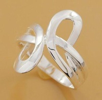 R206 Wholesale 925 silver ring, 925 silver fashion jewelry ring fashion ring
