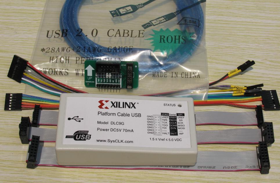 Интегральная схема Xilinx USB