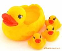 1 4 duck teakettles baby toy 2826