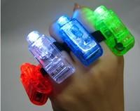 Finger light laser light ring small toy night market 8g