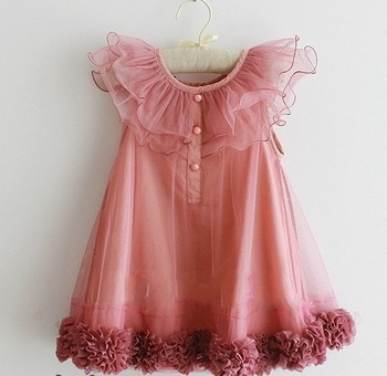 2013 new summer hot girl ball grown lace dress tutu