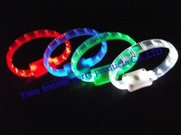 new styles Multi color  bracelet  glow stick led color light flashing bracelet lighting flash sticks festival Free shipping