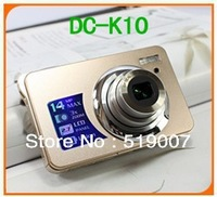 good quality and best price Digital Camera DC-K10 CMOS 4X Digital zoom,3X optical zoom,2.7 Inches TFT LCD