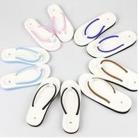 Hot eva flip flops women slippers carton beach babouche flip flops wholesales or resales free shipping