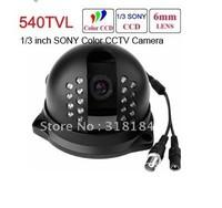 1/3 inch SONY Super HAD CCD 540TVL High Resolution OSD Outdoor IR Camera