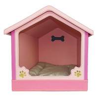 Free Shipping Pet Supplies Leather Pet Dog Kennel teddy Dog House Dog Home Small Dogs Cat Litter