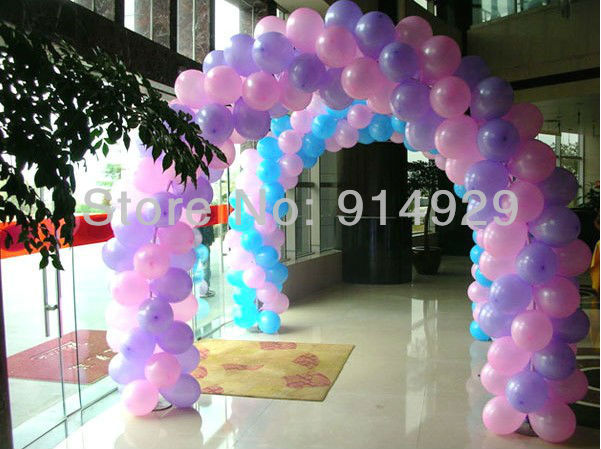 2013 new free shipping helium inflatable letter balloons 100pcs/lot round balloon(China (Mainland))
