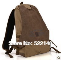 100% cotton casual canvas bag male backpack student school bag Men 8828