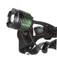 1600 Lumens SecurityIng Waterproofing Led Bike Motor Headlamp / Bicycle Front Lighting With zoomable focus lens charger