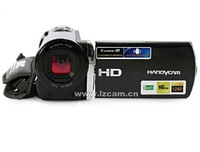 New 12MP 5.1Mega pixels CMOS sensor Digital video camera 16xzoom 3.0''TFT PC Camera Digital Camcorder HDV-666