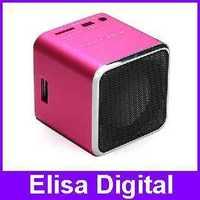 Free shipping MUSIC ANGEL JH-MD07U USB speaker TF card sound box+FM radio+Card reader+100% original+MD07 upgraded speaker,RY9113