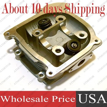 (6 sets a lot) Cylinder head assy for GY6 50cc 39mm 139QMB/139QMA Engine Moped Scooter (Brand New)