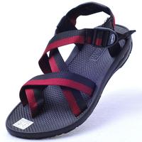 Classic vento slip-resistant outsole 3 adjustable male beach sandals 117