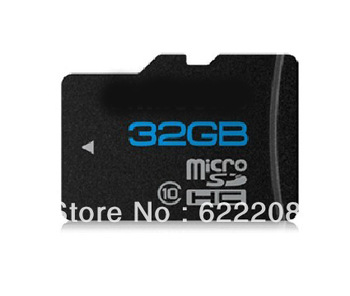 Free shipping Hotsale New class 10 Genuine capacity  Micro SD Card TF Card high speed 16GB 32GB
