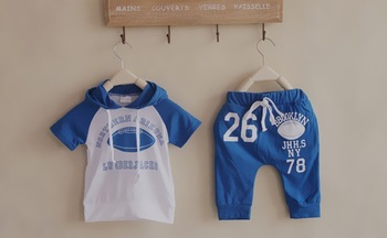 2013 free shipping boys girls casual children's clothing, suits, wholesale and retail, T-shirts and shorts  comfortable