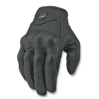 American ICON invisible motorcycle gloves punch goat genuine leather gloves super ventilation function Free Shipping
