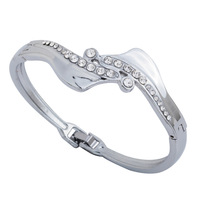 Beautiful design new arrival 2013 women jewerly stainless steel bracelet  Free shipping