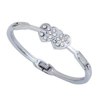 2013 Lover bracelet  Romatic design Heart shape stainless steel  women jewerly  Hot sale Free shipping