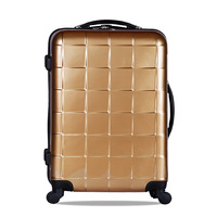 Commercial vintage trolley luggage travel luggage trolley bag universal 20 wheels luggage