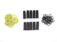 "FREE SHIPPING 5Sets (10) Tattoo Machine Part Coil Cores 1 3/50""(26.8mm)   5/16""98mm) 8-32 with C-Clips washers"