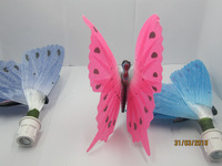 New Arrival Fiber Optic Butterfly LED Color Change Night Light Lamp for Bedroom Free shipping