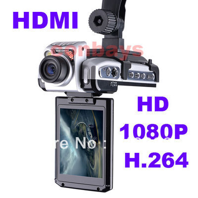 F900LHD Car DVR Cam Recorder Cam Vehicle Dashboard Camera Night Vision Full HD 1080P 2.5 inch TFT FREE SHIPPING(China (Mainland))