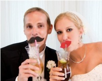 creative  photos decorative wedding supplies funny  paper  lips and beard  freeshipping 100pcs/lot