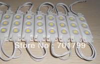 COOL WHITE 5050 SMD injection type LED module,3pcs 5050 led,DC12V input