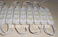 COOL WHITE 5050 SMD injection type LED module,3pcs 5050 led,DC12V input