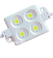 COOL WHITE 5050 SMD injection type LED module,4pcs 5050 led,DC12V input