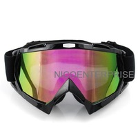 Motorcycle helmet goggles cross country skiing windproof mirror goggles black multicolour tablets