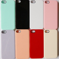 10pcs/lot New Hot Fashion  cream  phone case cover  for iphone5 case diamond cell phone protection shell