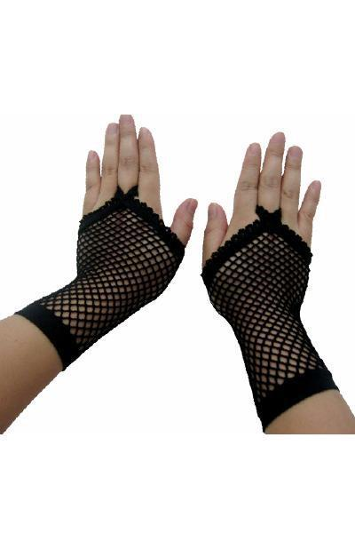Fishnet Adult Gloves LC7005 Cheaper price + Free Shipping Cost + Fast Delivery(China (Mainland))