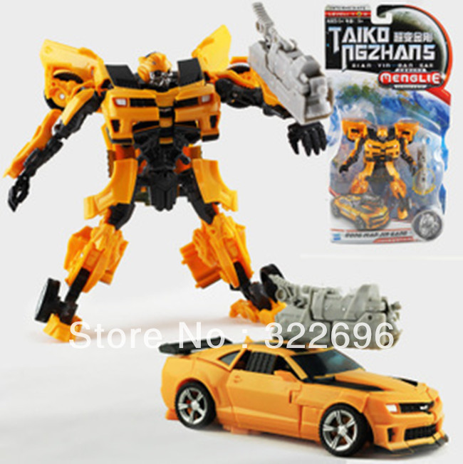 Free Shipping Transforming Robots Optimus Prime MechTech V Bumblebee Kid's Chidren's Toy Car(China (Mainland))