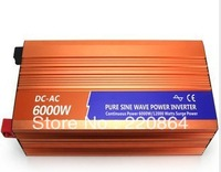 6000W DC 12V to AC 220V Pure sine wave inverter with USB